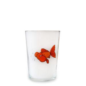 18oz Fish Tubo Glass